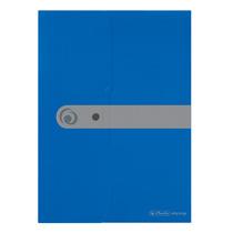Herlitz Dokumententasche A4 opak blau easy orga to go