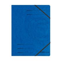 Herlitz Eckspanner A4 Colorspan blau