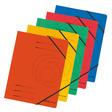 Herlitz Eckspanner A4 Colorspan farbig sortiert 5er