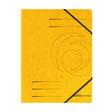 Herlitz Eckspanner A4 Colorspan gelb
