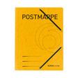 Herlitz Einschlagmappe A4 mit Gummizug Postmappe gelb