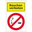 Herlitz Etikett - Rauchen verboten