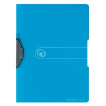 Herlitz Express-Clip A4 PP transparent blau Clip grau easy orga to go