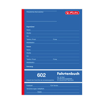 Herlitz Fahrtenbuch 602
