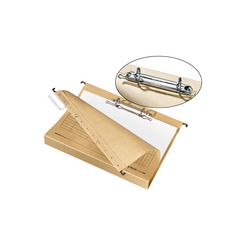 Herlitz Hängesammler A4 mit Ringmechanik UniReg braun