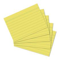 Herlitz Karteikarte A5 100Stück liniert gelb