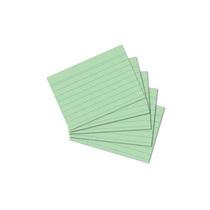 Herlitz Karteikarte A8 100Stück liniert grün