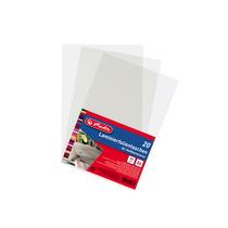 Herlitz Laminierfolientasche Folientasche Laminator A6 20er für Heißlaminierer