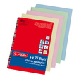 Herlitz Multifunktions-Papier Universalpapier Colourmix pastell