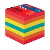 Herlitz Notizklotz 9x9x9cm 700Blatt farbig geleimt