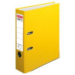 Herlitz Ordner maX.file protect A4 8cm gelb