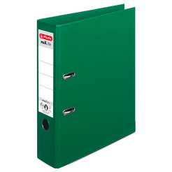 Herlitz Ordner maX.file protect plus A4 8cm grün
