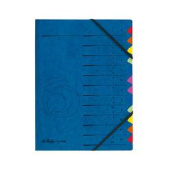 Herlitz Ordnungsmappe A4 Colorspan 1-12  A-Z