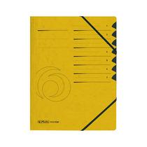 Herlitz Ordnungsmappe A4 Colorspan 1-7 gelb