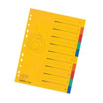 Herlitz Register A4 Colorspan XXL 10-teilig farbig
