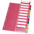 Herlitz Register A4 PP 1-10 mit Indexblatt farbig