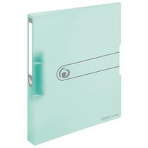 Herlitz Ringbuch A4 PP 2-Ring 3,8cm Pastell transparent minze easy orga to go