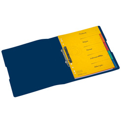 Herlitz Ringbuch Recycling A4 PP 2-Ring 3,8cm dunkelblau easy orga to go
