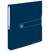 Herlitz Ringbuch Recycling A4 PP 2-Ring 3,8cm dunkelblau easy orga to go