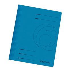 Herlitz Schnellhefter A4 Karton blau intensiv