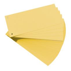 Herlitz Trennstreifen gelb 100er
