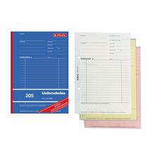 Herlitz Versand-, Lieferformular Lieferscheinbuch 205