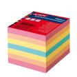 Herlitz Zettelkastenersatzeinlage Notizzettel 9x9cm 550Blatt farbig