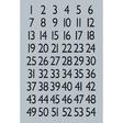 HERMA Buchstaben-, Zahlen-Etiketten, 1-100