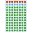 HERMA Buchstaben-, Zahlen-Etiketten, 1-160