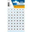 HERMA Buchstaben-, Zahlen-Etiketten, 1-240