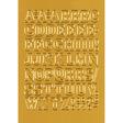HERMA Buchstaben-, Zahlen-Etiketten, A-Z Folie
