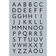HERMA Buchstaben-, Zahlen-Etiketten, A-Z Silberfolie