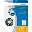 HERMA CD-, DVD-Aufbewahrung, CD-Hüllen aus transparenter Folie