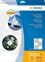 HERMA CD-, DVD-Aufbewahrung, Hüllen