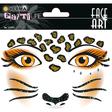 HERMA Face Art Sticker Leopard Art Decor