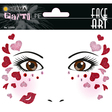 HERMA Face Art Sticker Love Art Decor