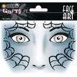 HERMA Face Art Sticker Spider Art Decor