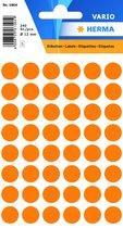 HERMA Farb-, Markierungspunkte, Vielzweck-Etiketten leuchtorange