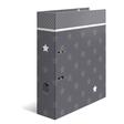 HERMA Motivordner A4 Stars - Grau mit Bordüre