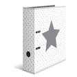 HERMA Motivordner A4 Stars - Weiß gepunktet