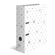 HERMA Motivordner A4 Stars - Weiß mit grauen Sternen