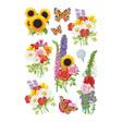HERMA Poesie-Etikett, Schmuck-Etikett DECOR moderne Blumen