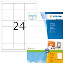 HERMA PREMIUM A4 Etiketten 100 Blatt / Packung