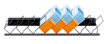 HERMA Regalordnungssystem Metall, Bodenfächer-Modul8