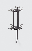HERMA Regalordnungssystem Metall (Marketing) Lochwand-Drehmodul0