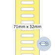 HERMA Rollenetikett für Preisauszeichnungsgerät 71 x 32 mm