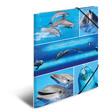 HERMA Sammelmappe A4 Pappe Delfine