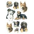 HERMA Schmuck-Etikett DECOR Hunde