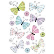 HERMA Schmuck-Etikett DECOR moderne Schmetterlinge