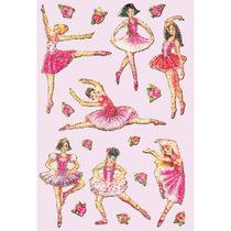 HERMA Schmuck-Etikett Magic Ballerina Crystal